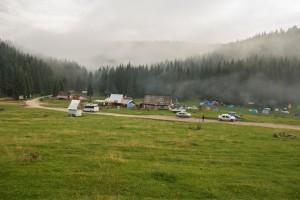 Camp v Apusenách